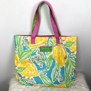 NEW Lilly Pulitzer Lemon Tote